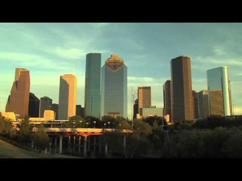 Houston, Texas Skyline - 22 seconds