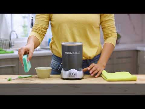 How To Clean the NutriBullet Power Base
