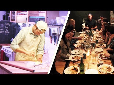 We Host Underground Dinners For Strangers