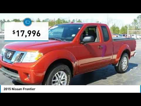 2015 Nissan Frontier Fayetteville NC, Fort Bragg NC, A040636A