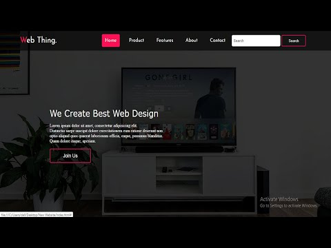 How To Make Full Website Only Using Html & Css