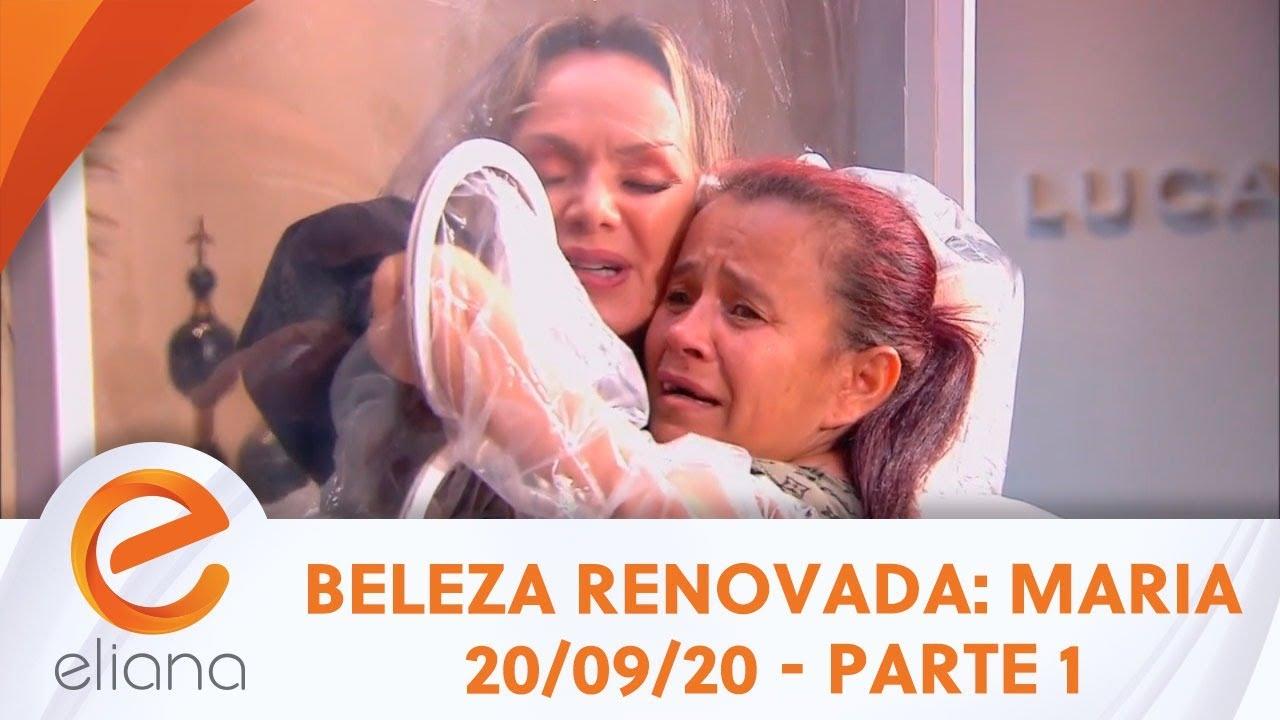 Beleza Renovada: Maria das Graças - Parte 1 | Programa Eliana (20/09/20)