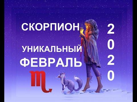 ♏️СКОРПИОН. ТАРО-ПРОГНОЗ НА ФЕВРАЛЬ 2020.