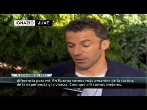 Entrevista a Alessandro Del Piero