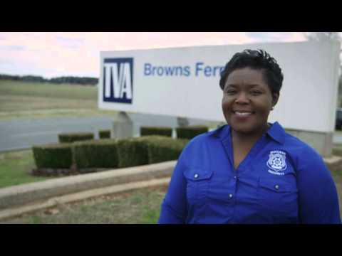 Meet Tanya, protective strategy program manager at Browns Ferry Nuclear Plant.