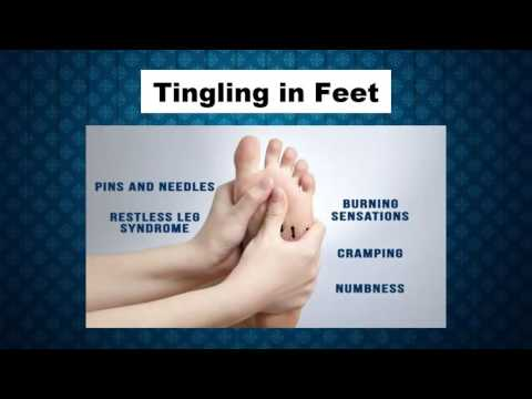 Tingling in Feet Symptoms and Signs - Tingling on Toes - Tingling of Legs and Feet