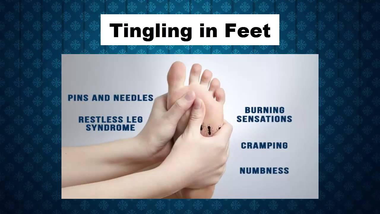 Tingling In Feet Symptoms And Signs Tingling On Toes Tingling Of Legs And Feet Youtube