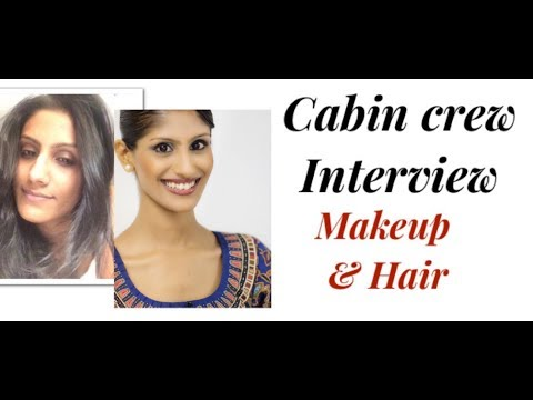 Cabin Crew/Singapore Airlines Interview: Make up & Hair Tutorial Female Cabin Crew