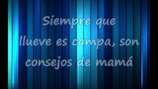 Chayanne Madre Tierra Oye con Letra