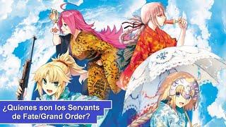 ¿Quienes son los Servants de Fate/Grand Order? [Parte 3] (106-135)