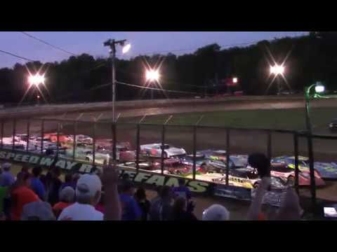 Eriez Speedway RUSH Crate Late Model Feature 7-30-17
