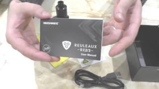 Wismec Reuleaux RX 2/3 Tsunami 24 aliexpress міні огляд розпакування