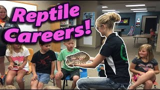 How to make a Career with Reptiles!