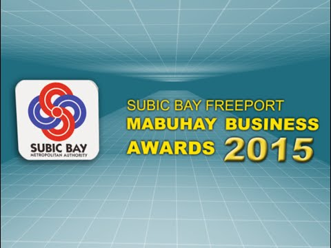Subic Bay Freeport Mabuhay Business Awards 2015