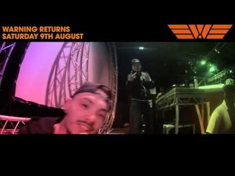 Warning In The Sun Warmup: 7th June 2014 @ Cambridge Junction - Andy c, Friction & More!