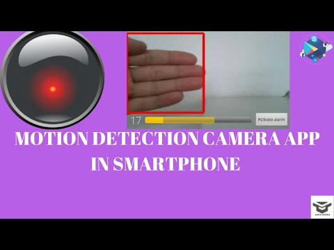 motion detection camera app in smartphone