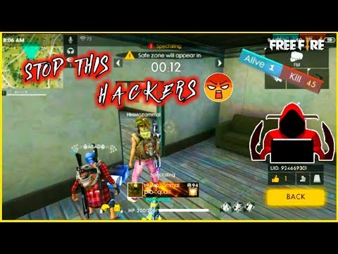 HACKERS ARE BACK IN FREE FIRE 😢😭|| WALL HACK AND MOD OF FREE FIRE😢