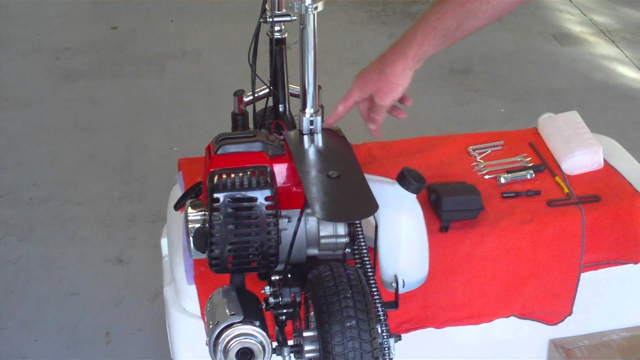how to make a 49cc scooter faster