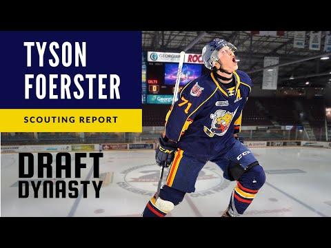 Tyson Foerster highlights 2020 NHL draft