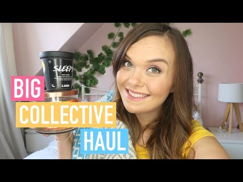 COLLECTIVE HAUL - BEAUTY, CLOTHING & HOMEWARE - AUGUST 2017
