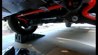 Installing Front TRD Sway Bar on Toyota Tundra