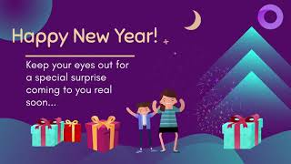 Immortalize New Year 2021 Greetings