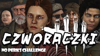 Dwight Fairfield  Czworaczki - Dead By Daylight: NO PERKS & ITEMS CHALLENGE #01
