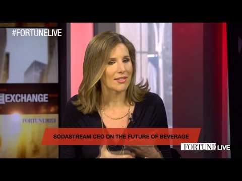 SodaStream CEO on the changing beverage industry | Fortune Live