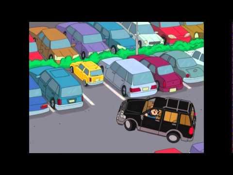 Stan Rage in Parking Lot American Dad