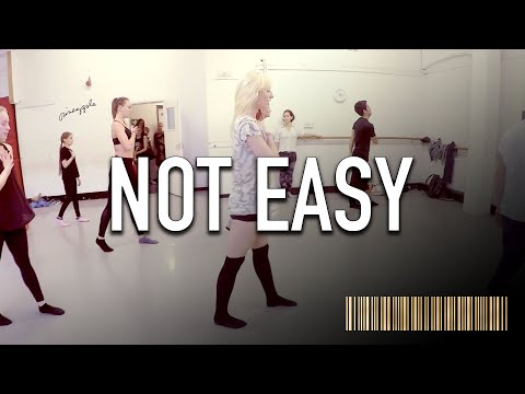 NOT EASY by Alex Da Kid Dance ROUTINE Video | Brendon Hansford Choreography