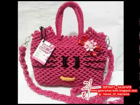 Tas tali kur motif hello kitty by zeptaify