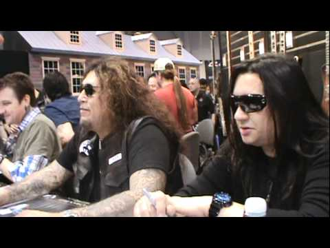 Testament Signing at NAMM 2012