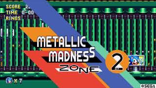 Metallic Madness Zoneです。 圧死にさえ気を付ければサクサク進めれる...