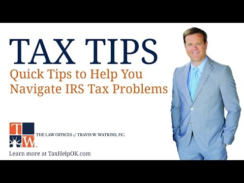 TAX TIP: Should I Hire a Tax Lawyer?