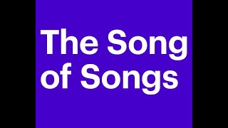 The Song Of Solomon Or The Canticle Of Canticles, The Holy Bible, Complete Audiobook