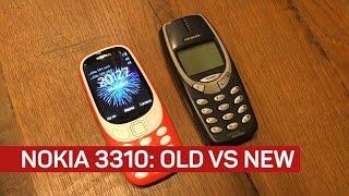 New Nokia 3310 versus old Nokia 3310