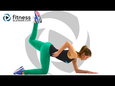 10 Minute Butt and Thigh Workout At Home - No Equipment Butt and Thigh Toning Workout