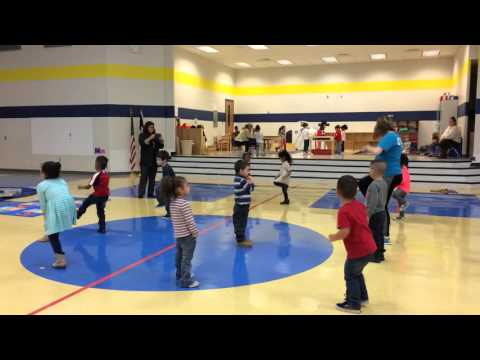 GymKix teaches movement through dance to Mae Stevens Early Learning Academy Students