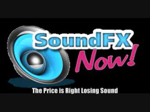 The Price is Right Losing Sound Effect
