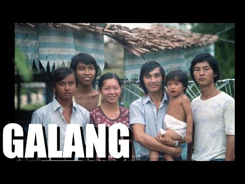 Vietnamese History. DO NOT FORGET. - Boat People in GALANG Indonesia - a Kyle Le Doc.