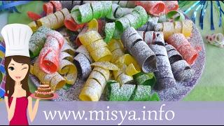 Repeat youtube video Stelle filanti dolci, la ricetta di Misya