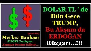 DOLAR TL' DE ERDOĞAN & TRUMP RÜZGARI... (Dolar TL de Sert Dalgalanma Devam Ediyor.)