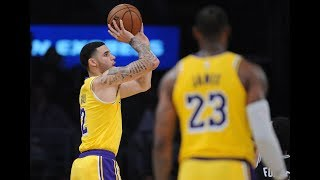 Every Lonzo Ball 3-Pointer (With New Form) in Lakers' First 5 Games