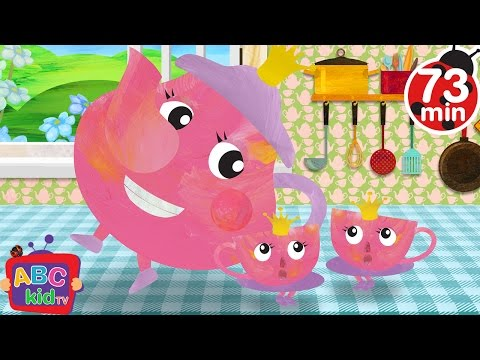 I am a Little Teapot | + More Nursery Rhymes & Kids Songs - ABCkidTV