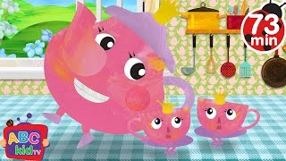 I am a Little Teapot (2D) | +More Nursery Rhymes & Kids Songs - CoCoMelon