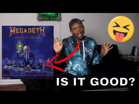 Megadeth - Tornado Of Souls Lyrics REACTION! (BEST GUITAR SOLO EVER)