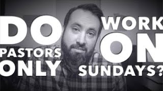 What Does a Worship Pastor Do All Week?
