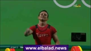 ريو 2016.. بالصور.. الرباع المصري أحمد سعد يحصل على المركز الخامس