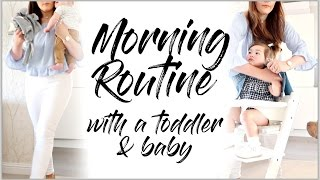 MORNING ROUTINE OF A MUM/MOM WITH 2 KIDS UNDER 2 | MAMA REID