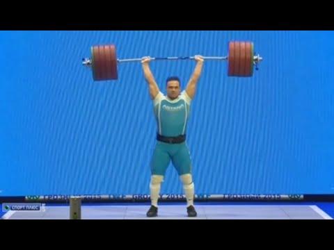 Ilya Ilyin — 246 Kg Clean U0026 Jerk (World Record)